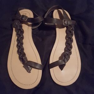 Mossimo braided sandals
